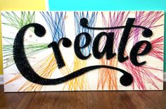 """Chris and Paige: The One with """"Create"""" String Art"""