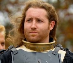 Josh Knowles from History Channels Full Metal Jousting. that is what men should look like in armor. :) jbamsgac