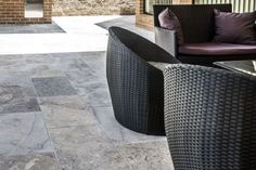 Silver Travertine paver is a very popular stone in the whole travertine range. Natural Stone Pavers, Natural Stones, Travertine Pavers, Cape Designs, Garden Architecture, Dark Shades, Outdoor Furniture, Outdoor Decor, The Great Outdoors