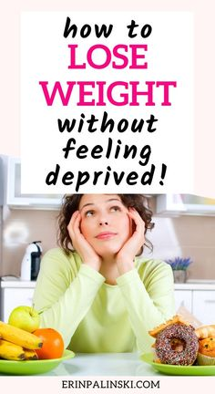 Figuring out how to lose weight can be tough - and most people don't stick with it long enough because they feel deprived.  Discover my weight loss hack to losing weight without feeling like you're giving up anything!  This is the best trick I use to keep me at my goals.  (sponsored)