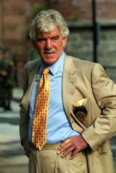Dennis Farina--Was one of the Chicago Police Department's very own for 18 years before hitting the big screen.
