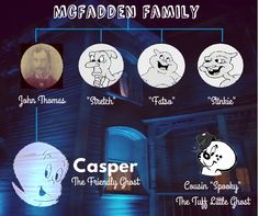 Everyone has a family tree!  #Halloween #casper #ghost