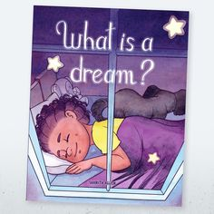 What is a Dream? Book Cover – the second book in the Let's Go Dreaming series, written by author Shanita Allen, illustrated by Isabelle Arne | #bookillustrators #bookcovers #designfreelancers #booksforkids
