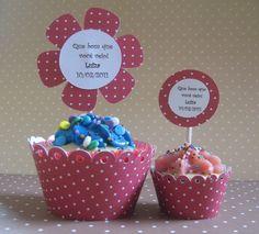 Lembrancinhas de Maternidade   Inove e use a Criatividade, Modelos cupcake lembranca maternidade