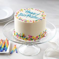 We Take The Cake, Birthday Confetti Cake #williamssonoma