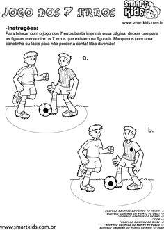 Atividade Esportes Sete Erros