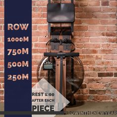 21st workout of WaterRower's Row In The New Year Workout Series!