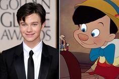 Chris Colfer / Pinocchio - Celebrities Who Look Like Iconic Cartoon Characters - Photos