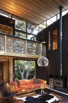 Cabaña de madera natural 2