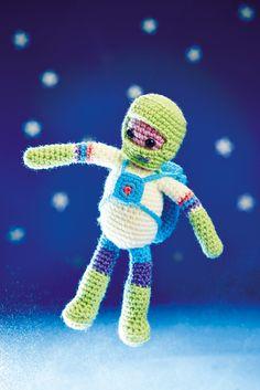 Spaceman - Free Crochet / Amigurumi Pattern #crochet #amigurumi #free #ravelry