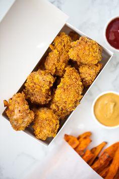 Paleo Crispy Chicken Nuggets (AIP, Chick-fil-A Copycat) - Unbound Wellness