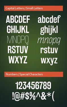 Rakesly Font Letters #freefonts #fontsfordesigners #fonts2014 #bestfonts2014 #downloadfreefonts