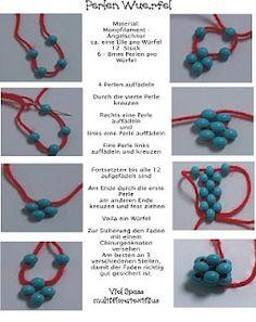 FREE-HOW -- beaded bead -- tutorial == jewels: bead making ==