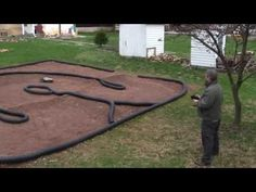 ▶ How to make a backyard RC car track - tips and techniques - YouTube #rcxceleration