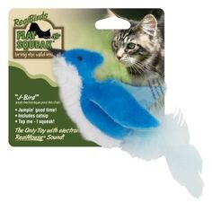 CAT TOYS - ALL OTHER - REAL BIRDS J-BIRD CAT TOY