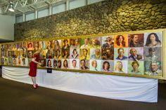 The Face of Ventura By Johanna Spinks now in the permanent collection of The Museum of Ventura County
