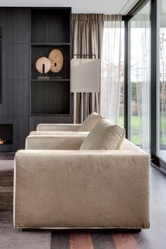 residential project choc studio - love seats by Pure Choc lamp Layer by Adje - publication Stijlvol Wonen 2015 - photography Denise Keus