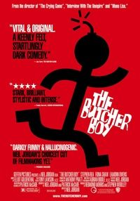 Poster for ''The Buthcer Boy''.