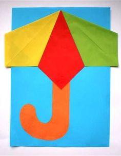 Paraplu, Herfst, Knutselen: