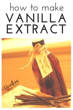 ... Extract on Pinterest | Homemade Vanilla, Vanilla and How To Make