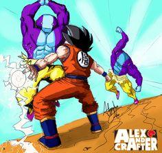 Akira, Goku Vs, Kid Icarus, Wallpaper Naruto Shippuden, Dbz, Dragon Ball Z, Character Design, Son Goku, Enemies