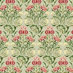 ArtWall Floral Wallpaper Design by William Morris 3 Piece Graphic Art on Wrapped Canvas Set Size: Art Nouveau, Art Deco, Textiles, Textile Prints, Pattern Art, Print Patterns, William Morris Art, Art And Craft Design, Of Wallpaper