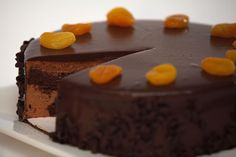 Sacher Torte, one of the world's great cakes. I've had this a few times at the famous Hotel Sacher in Vienna, Austria.