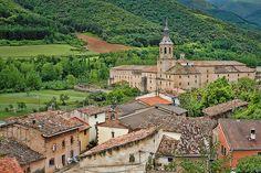 Monasterio de Yuso, San Millan de la Cogolla, Camino de Santiago, La Rioja, Spain.