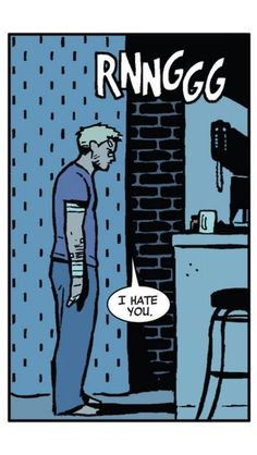 Clint Barton is me, I am Clint Barton. We are one.