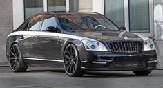 Maybach Type 57S Modified from Top to Bottom Wears a Carbon Fiber Suit, Costs $1 Million
