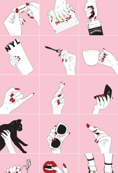 you motherfucking slay — themoonspells: . Cute Wallpapers, Wallpaper Backgrounds, Iphone Wallpaper, Evvi Art, Tableau Pop Art, Moon Spells, Nail Logo, Pastel Grunge, Hand Art