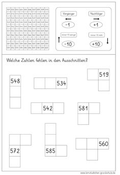 The Adding Five 5-Digit Numbers on a Grid (A) math worksheet from ...