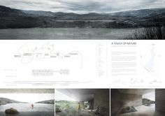 2nd PRIZE - Site Lake Baths Design Competition - Adrian Yau, Kenneth Wong, Cyrus Wong, Jin Chen (JAPAN)