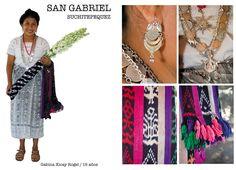 Traje típico de San Gabriel, Suchitepequez