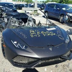 10 Best Salvage Lamborghini At Auction Images In 2019 Auction