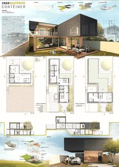 TFG I - Container Home Office Projec. model architecture concept diagram conceptual model diagrams drawing landscape layout layout presentation portfolio cover page poster presentation presentation house dream homes architecture building Sketchbook Architecture, Architecture Visualization, Architecture Board, Architecture Portfolio, Concept Architecture, Interior Architecture, Minecraft Architecture, Landscape Architecture, Bauhaus Architecture