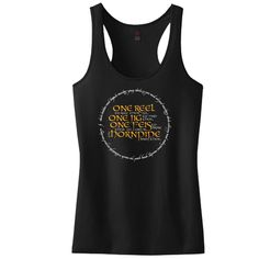 One Reel To Rule Them All Concert or Racerback Tank Top