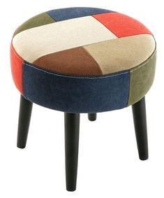 Técnicas para renovar tus muebles: color blocking Tire Furniture, Wood Furniture Legs, Furniture Removal, Luxury Home Furniture, Unique Furniture, Shabby Chic Furniture, Diy Footstool, Pouf Ottoman, Diy Puffs