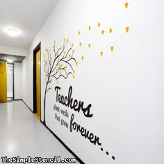 | School Wall Lettering & Decals | Simple Stencils™