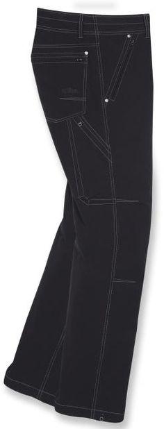 Kuhl Destroyr Pants. $140 at REI. Windproof and rainproof.