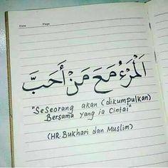 Assalamu'alaikum.. sahabat hijrah ☺ . . Seseorang yang mencintai dan dicintai selalu di karena kan Allah Ta'ala. Dan pada pengharapan seseorang hamba yang paham akan hakikat cinta sejati selalu mengedepankan Allah. . . Begitupun dalam diam setiap lambaian tangan dalam dekapan do'a dan usaha seorang insan sebagai bentuk nyata. . . So, kita seorang islam. Jika kita islam, kita pasti menginginkan kumpul bersama dengan orang-orang yang kita cinta di jannahNya kelak. Maka sampaikanlah dengan ... Qoutes, Life Quotes, Self Reminder, Doa, Allah, Muslim, Prayers, Quotations, Quotes About Life