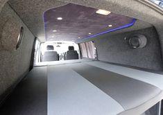 Camper Van Kombi Bed photos Kombi Camper, Camper Van, Vw T5 Caravelle, A Team Van, Day Van, Bed Photos, Camper Interior, Volkswagen, Jumper