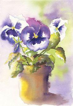 watercolor by Beth Roberson