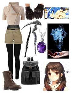 """""""Untitled #317"""" by nightmare-reaper ❤ liked on Polyvore featuring Maharishi, Wolford, Yigal AzrouÃ«l, LE3NO, Charlotte Russe and Oravo"""