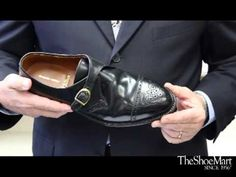 Joe Zapatka of #TheShoeMart explains how to properly try on #Alden shoes without flexing them!  This will ensure that if the shoes do not #fit, you are able to exchange or return them.  | www.TheShoeMart.com #AldenShoes