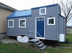 This is Judy's Dragonfly Tiny House on Wheels.