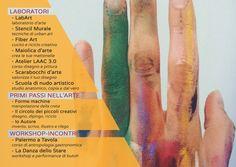 L'Altro Arte Contemporanea a Palermo. Programmazione dei laboratori.