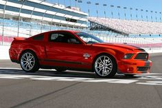 2012 Red Ford Mustang GT500 Super Snake (not bad for a Ford)
