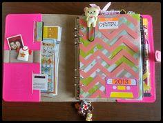A Crafty Island Girl: Filofax: Inside My Original jz- Life Planner, Happy Planner, Planner Ideas, Filofax Domino, Bullet Journal Printables, Moleskine, Day Planners, Planner Organization, Journal Covers