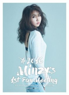 [Allkpop] Minzy starts off her solo activities with a solo fanmeet --- http://www.allkpop.com/article/2016/07/minzy-starts-off-her-solo-activities-with-a-solo-fanmeet